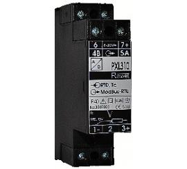 PXL310, 312  prevodník Pt100, termočlánku, prúdu a napätia