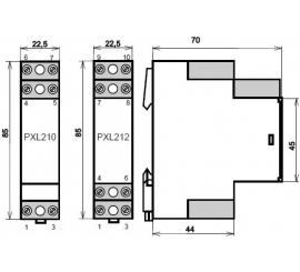 PXL210, PXL212 Prevodník s galvanickým oddelením