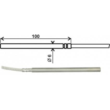 Pt1000TR050 / 0 kábel 1m univerzálna sonda
