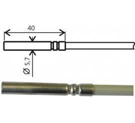 Pt1000TGL40 / 0 kábel 1m teplotná sonda