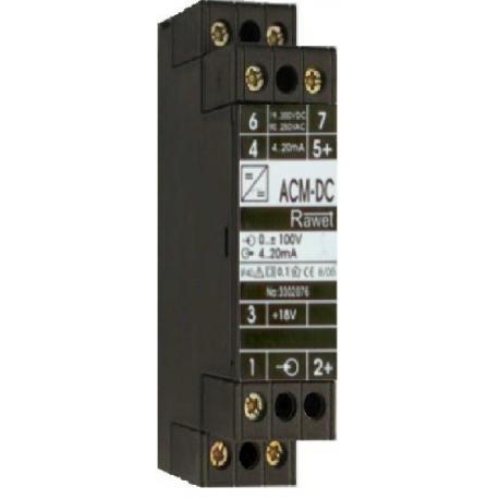 ACM DC prevodník jednosmerného prúdu a napätia