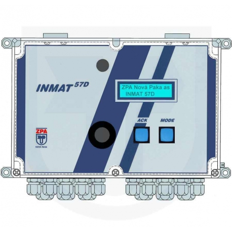 INMAT 57D Merač tepla a chladu
