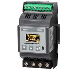 N27P 1-fázový analyzátor siete s OLED displejom