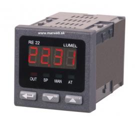 RE22 digitálny regulátor