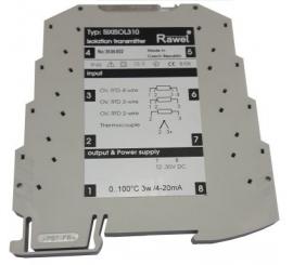 SIXISOL310 prevodník RTD, Tc a DC signálov
