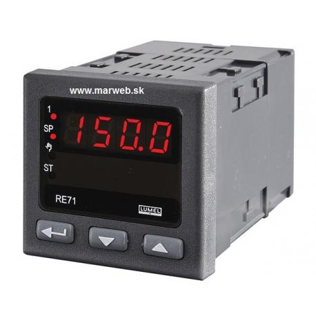 RE71 PID regulátor teploty