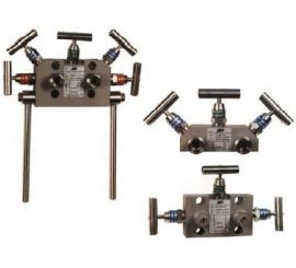 VS300, VS500, VS501 Trojcestná a pätcestná ventilová súprava