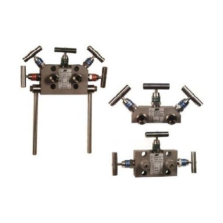 VS300,VS500, VS501 tricestna a peticestna ventilova souprava