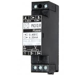 PX310R prevodník RTD,TC pre koľajové vozidla