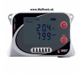 U3430 záznamník teploty, vlhkosti a CO2