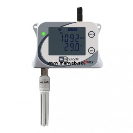 W7710 WiFi snímač teploty, relatívnej vlhkosti a barometrického tlaku