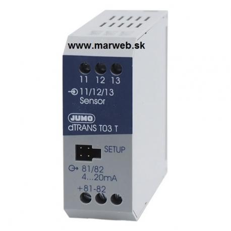 dTRANS T03 Digitálny prevodník pre snímače Pt100