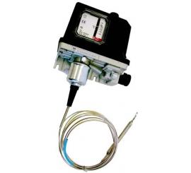 611 27 Obmedzovací termostat teploty kapilárový