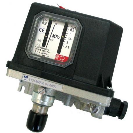 612 18 Regulátor tlaku membránový pro vysoké tlaky