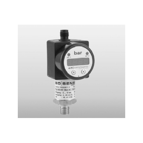 DS 200 P Elektronický tlakový spínač s procesním připojením