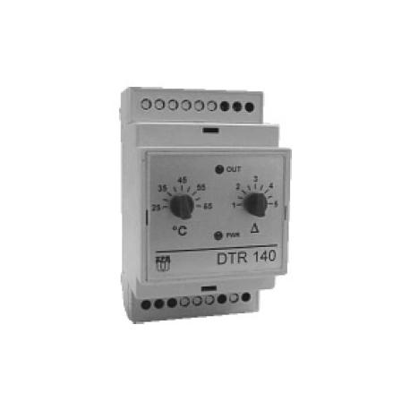 Dvoupolohový regulátor teploty DTR 140