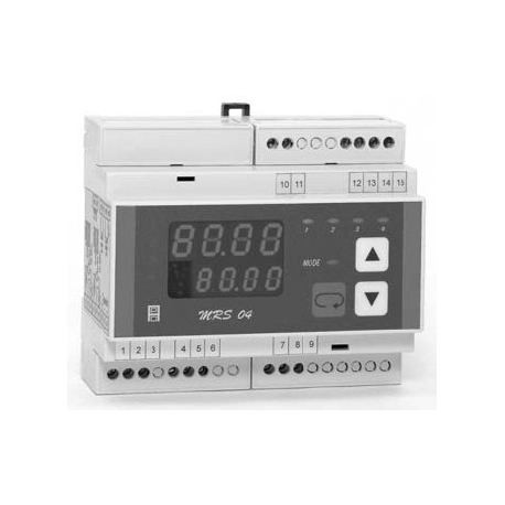Kompaktní mikroprocesorový regulátor MRS 04 DIN