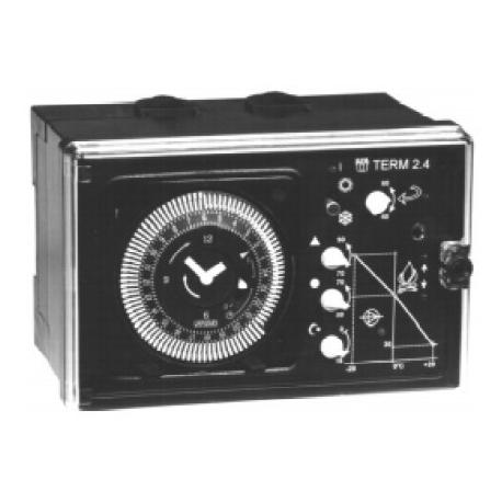 Ekvitermní regulátor vytápění s regulací teploty vratné vody TERM 2.4