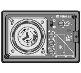 Ekvitermní regulátor s korekcí vytápění podle pokojové teploty TERM 2.5