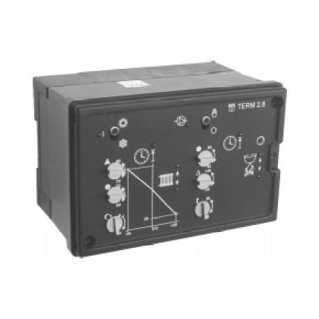 Ekvitermní regulátor vytápění s třístavovou regulací TUV TERM 2.8