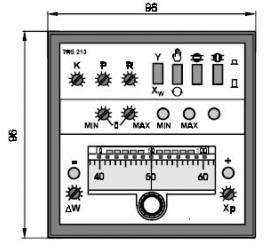 TRS 213 Elektronický trojpolohový regulátor teploty