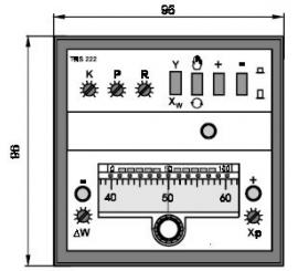 TRS 222 Elektronický trojpolohový regulátor polohy