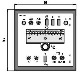 TRS 312 Elektronický trojpolohový regulátor