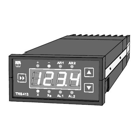Mikroprocesorový regulátor teploty TRS 413