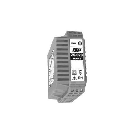 ZS-020 Oddělovací člen a stabilizovaný napájecí zdroj bez a s přenosem komunikačního signálu HART