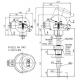 Termoelektrický snímač teploty s jímkou DIN bez převodníku nebo s převodníkem