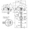 Termoelektrický snímač teploty Ex d do jímky ČSN bez převodníku nebo s převodníkem