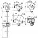 T1001 Odporový snímač teploty s jímkou bez převodníku nebo s převodníkem 4 až 20mA