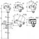 T1004 Odporový snímač teploty s přírubovou jímkou bez převodníku nebo s převodníkem