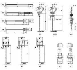 Flexi TEMP®60 Plášťové odporové a termoelektrické snímače teploty