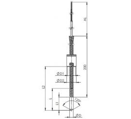 T1565 Temoelektrický snímač teploty kabelový plastikářský