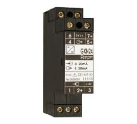 MODUL GALVANICKÉHO ODDELENIA S POMOCNÝM NAPÁJANÍM   typ GXN24 (24V DC) typ GXN230 (230V AC) - nahrádza typ GON224