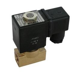 Elektomagnetický ventil  dvojcestný nepriamoovládaný 2VE6DF, 2VE6DFJ