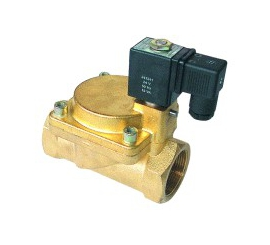 Elektomagnetický ventil  dvojcestný nepriamoovládaný 2VE10DA, 2VE12DA, 2VE13DA, 2VE16DA, 2VE25DA, 2VE32DA, 2VE40DA