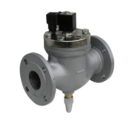 Elektomagnetický ventil  dvojcestný nepriamoovládaný 2VE50DBA, 2VE50DBB