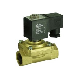 Elektomagnetický ventil  dvojcestné nepriamoovládané 2VE10DC, 2VE10DCJ, 2VE12DC, 2VE12DCJ, 2VE13DC, 2VE13DCJ, 2VE16DC