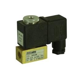 Elektomagnetický ventil  trojcestný priamoovládaný 3VE1.2M, 3VE1.6M, 3VE2M