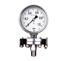 MM100K/717/1,6 tlakomery s oddeľovacou membránou
