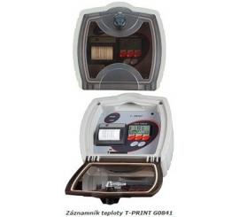T-PRINT G0841 zaznamnik teploty s tlačiarňou na náves kamiónu