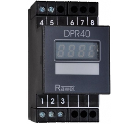 DPR40 Digitálny zobrazovač na DIN lištu