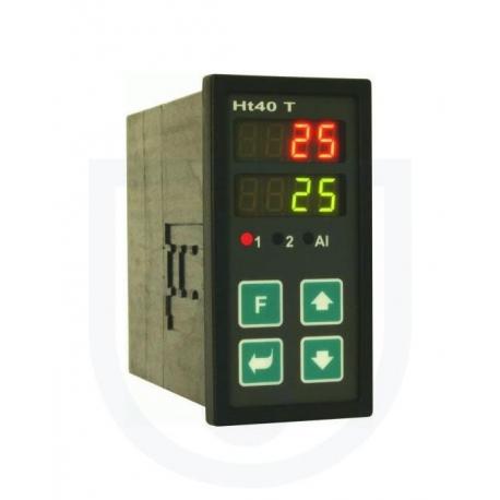 Ht40T PID regulátor riadený hodinami reálneho času