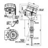 335 Termoelektrický snímač teploty Ex d do jímky DIN