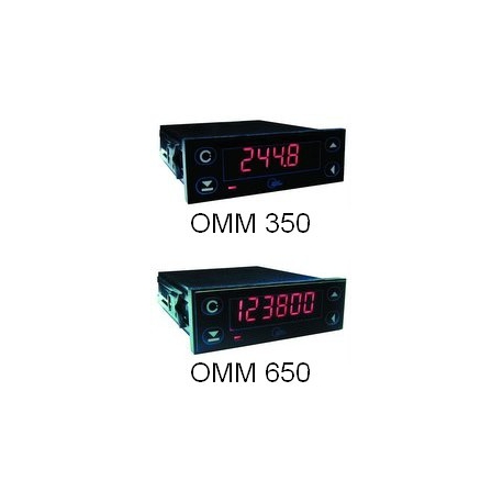 OMM 350, OMM 650  panelové programovateľné voltmetre a ampérmetre