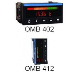 OMB 402 , OMB 412 - Panelové programovateľné zobrazovače