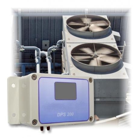 DPS 200 snímač nízkych tlakov a tlakovej diferencie