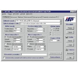NPT-02 Nastavovací program pre prevodníky P5102 a P5201